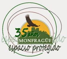 Logo 35 aniversario de Monfragüe
