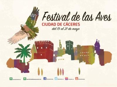 Festival de las aves de Cáceres 2017 - Del 19 al 21 de mayo