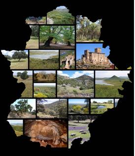 [Noticia 25/09/2015] La Consejería de Medio Ambiente muestra a través de una exposición itinerante la Red Natural de Áreas Protegidas de Extremadura