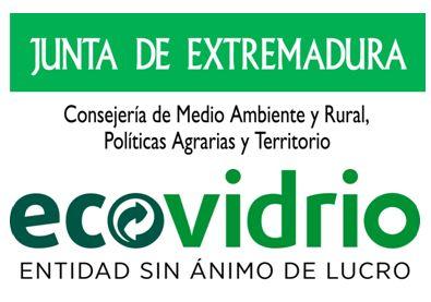logo Ecovidrio y Junta de Extremadura