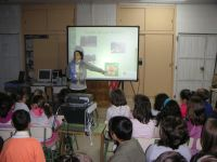 ES0024 project dissemination in the schools (October 2010)